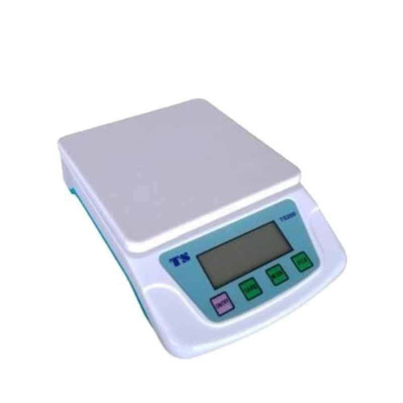 Rolex TS200 6kg 10x15x8cm Fibre White Weighing Scale