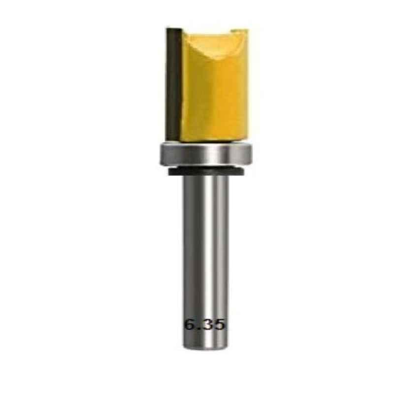 Lieutenant 12.7mm Dia. Flush Trim Router Bit, Shank Diameter: 6.35mm