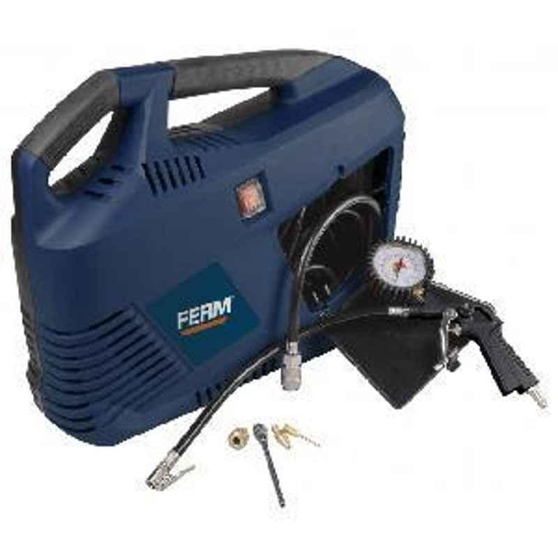 Ferm (CRM1049) 3550 RPM 1100W  Portable Oil Free Air Compressor