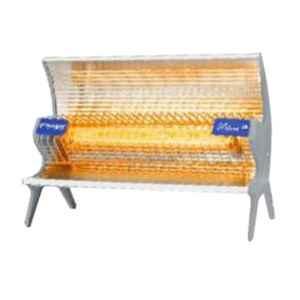 Lazer Blaze 1000W Steel Grey Ceramic Heater