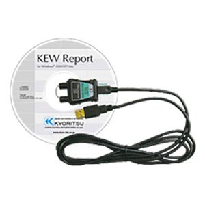 Kyoritsu USB Adaptor with KEW  Report, KEW 8212USB