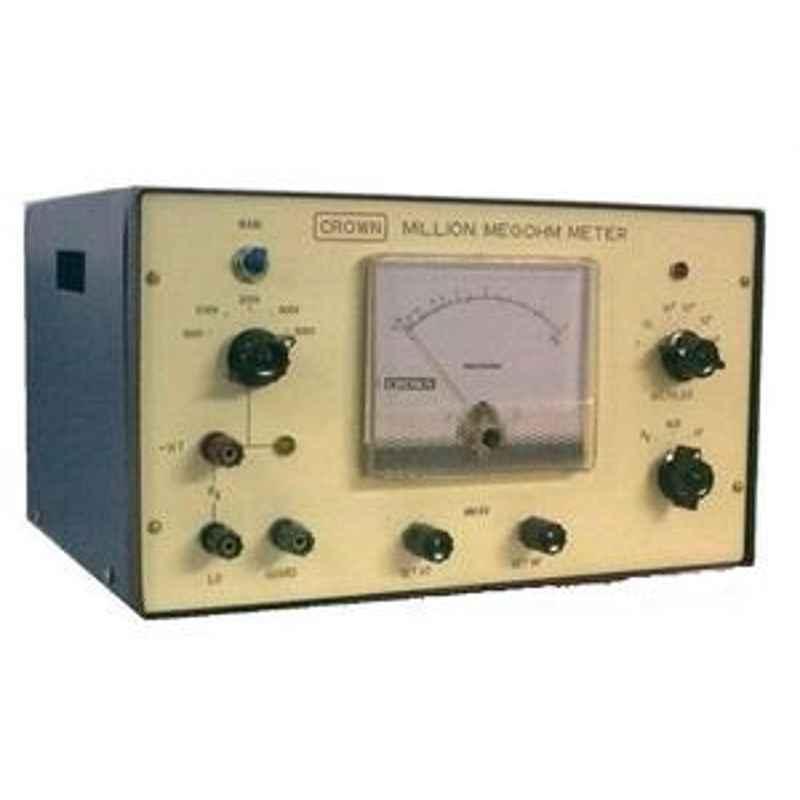 Crown CES 407 Range 1 M?-10 Million Mega OHM Meter