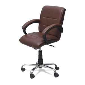 Dicor Seating DS42 Seating Leatherite Brown High Back Office Chair
