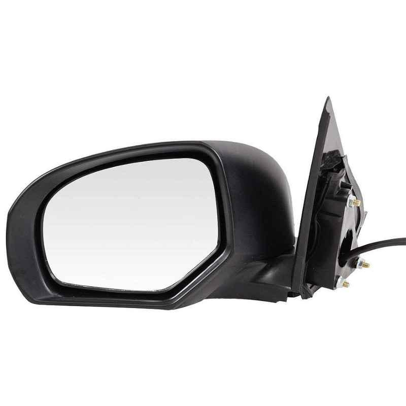 Motherson Left Hand Side Outer Rear View Side Door Mirror for Maruti Suzuki Swift & Swift Dzire Type 3 Motorised with Indicator Auto Foldable, RV-PMS050OL