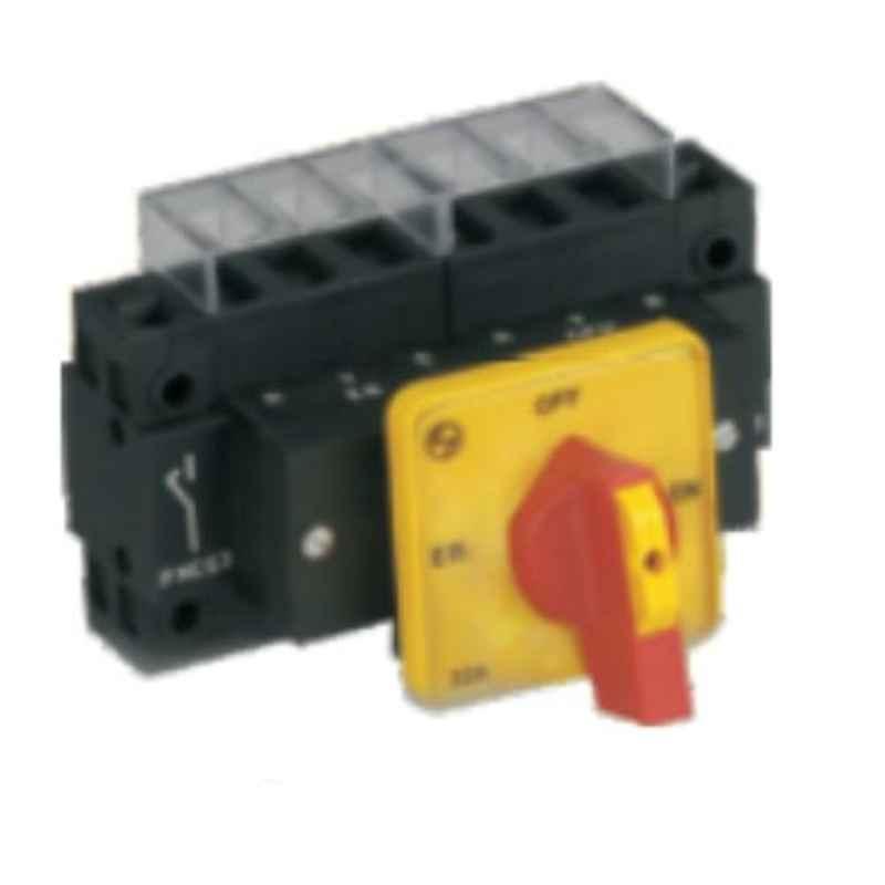 L&T EB-GEN 25A 3 Pole Rear Mounting Changeover Switch, EBF31153MB42BGYR
