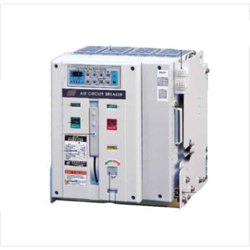 HPL 800A 50kA A-Type 3 Pole Manual Fixed Type Intelliprotect Air Circuit Breaker, BN083FM0D0D0AG0
