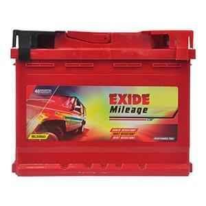 Exide Mileage 12V 60Ah Left Layout Battery, MLDIN60