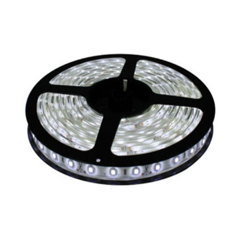 Ever Forever 5m White LED Strip Light with Adapter