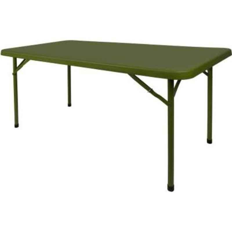 Supreme Buffet Mehndi Green Plastic Rectangle Outdoor Table