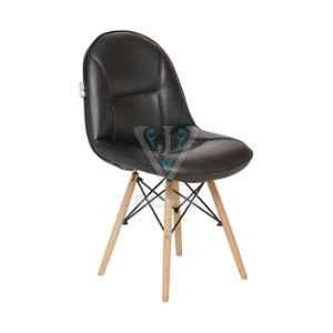 VJ Interior 18x18 inch Black Restaurant Chair, VJ-1213