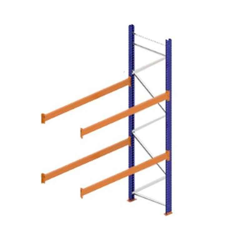 Godrej Ground Plus 2 Layers Steel Selective Pallet Racking, Max Load Capacity: 4000kg, Add on Unit: 3500x2300x1000mm (HxWxD)