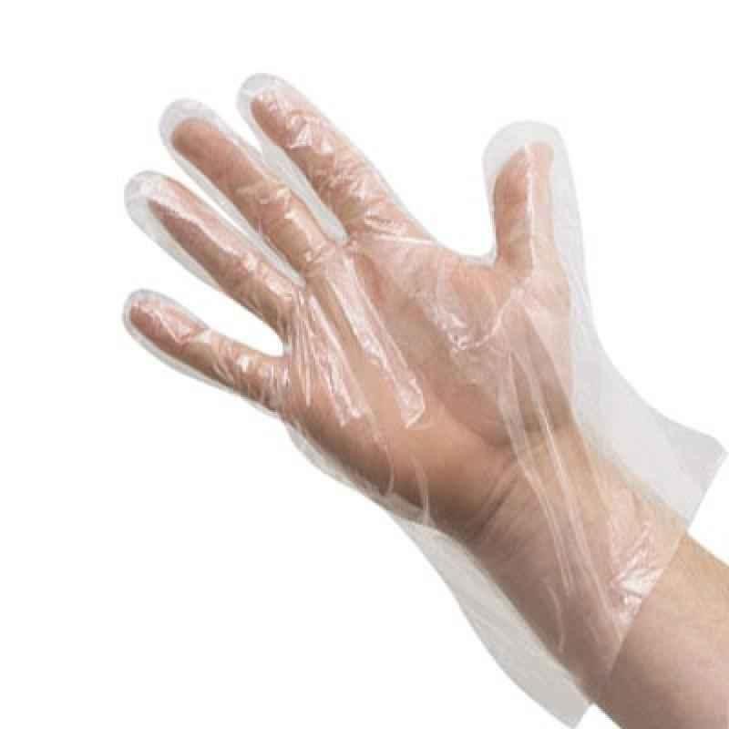 Poliy Plastic Gloves (Pack of 100)