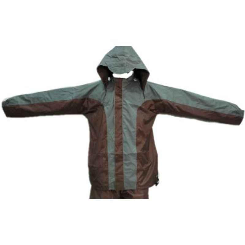 Duckback Shanghai Fancy Medium Polyester PVC Coating Rainsuit Set