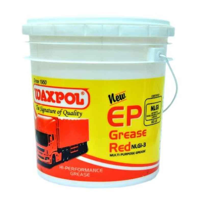 Waxpol 10kg EP3 Red NLGI GC-LB Certified Multi Purpose Grease, B61021
