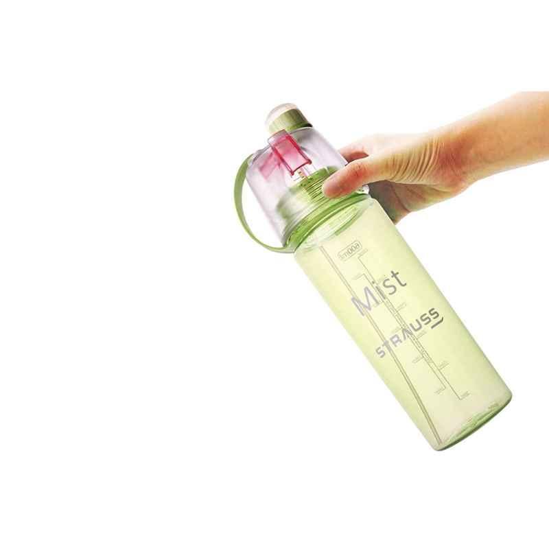 Strauss Mist 600ml Plastic Green Spray Bottle, ST-1223