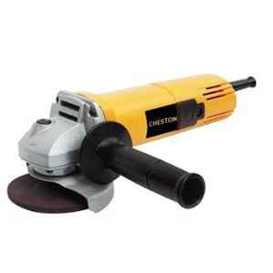 Cheston 100mm 850W Yellow Angle Grinder with Auxiliary Handle