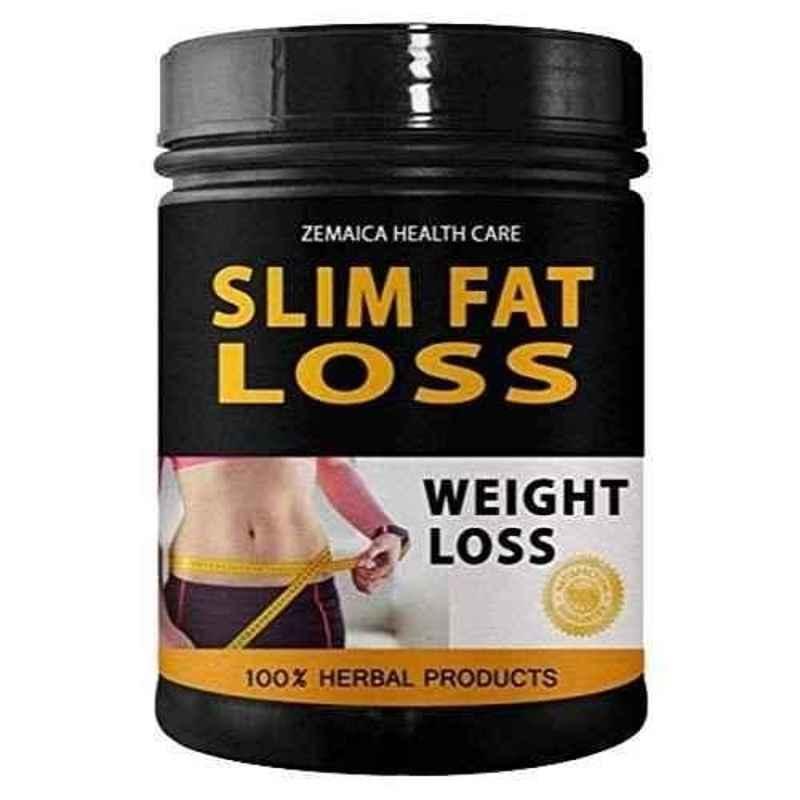 Zemaica Healthcare 100g Slim Fat Loss Ayurvedic Powder (Pack of 5)