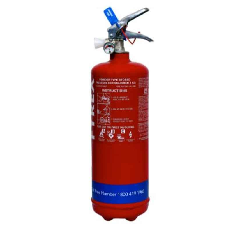 Fyrex Stored Pressure MAP 50 2kg ABC Fire Extinguisher, F0001