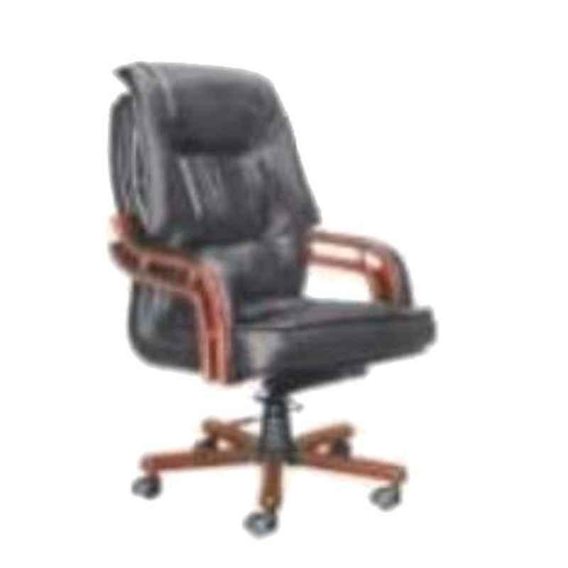 Nice Furniture High Back Wooden Base Executive Office Chair, NF-014