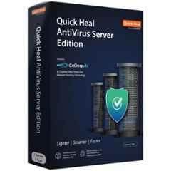 Quick Heal Antivirus Server-Edition 1 User 1 Year with DVD