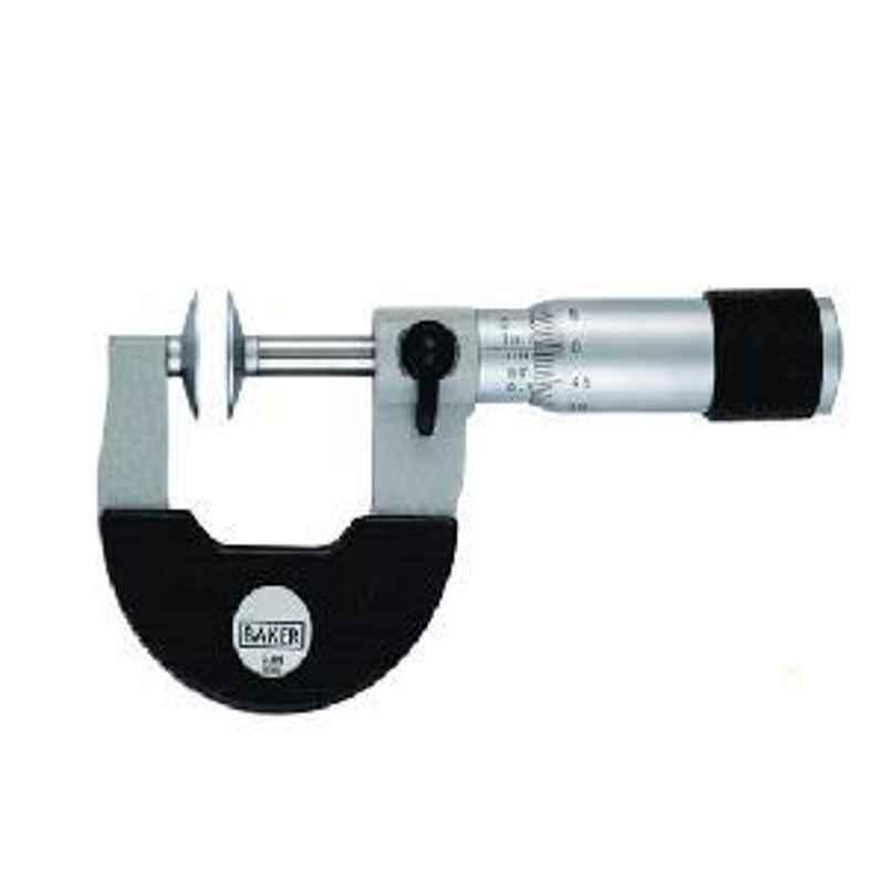 Baker 75-100 mm/3-4inch MMC100-D/INC4-D Disc Micrometer Rotating