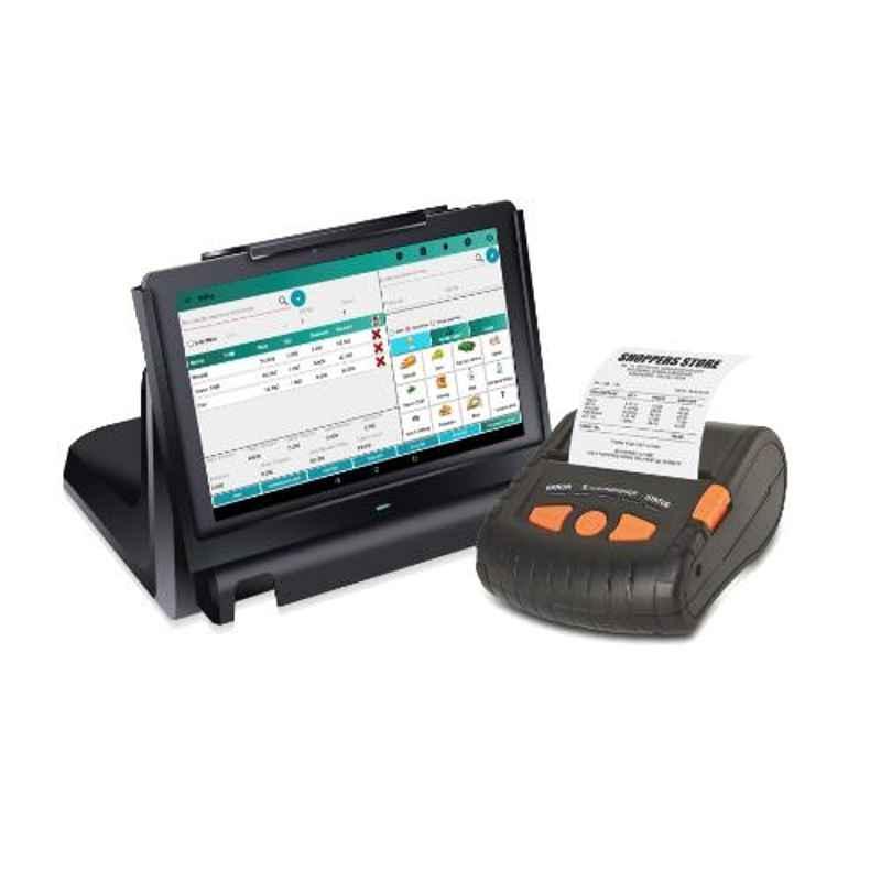 WEP JOY POS Bluetooth Thermal Retail Printer with Barcode Scanner