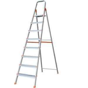 Eskai India 8 Step A-Type Aluminium Platform Ladder