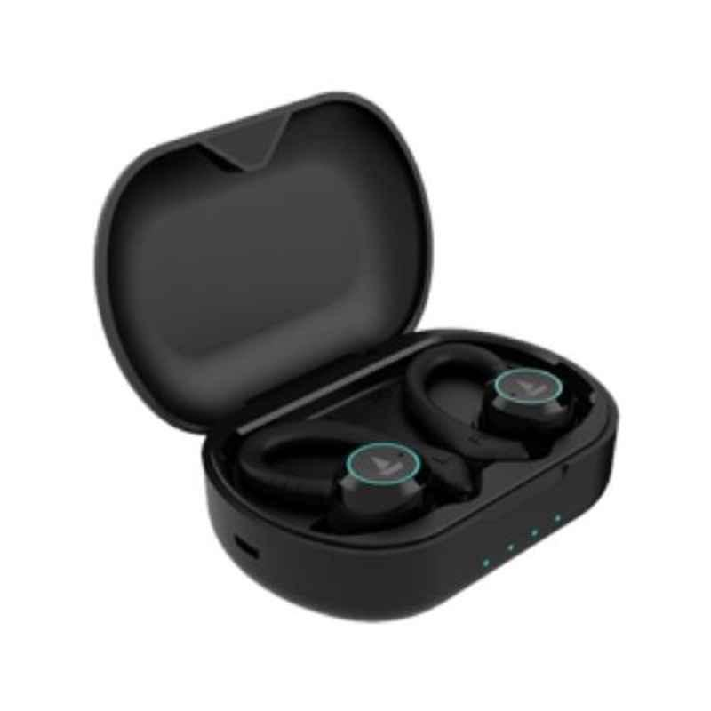boAt Airdopes 421 Black Bluetooth Earbuds with Mic