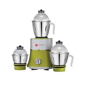 Cello Grind-N-Mix 700 750W Green Mixer Grinder with 3 Jars