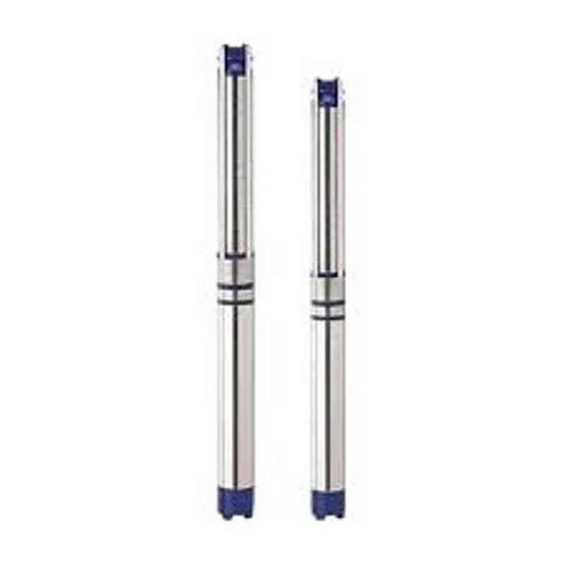 Lubi 7.5HP Water Filled Three Phase 60 Stage Submersible Pump with Cladded Motor, LSKW-5A