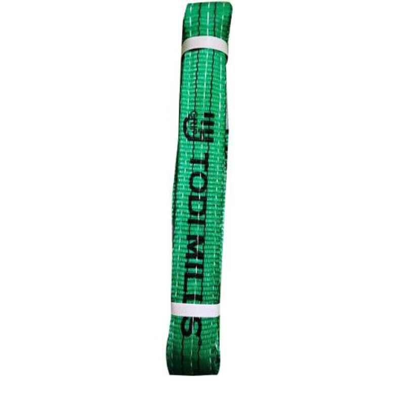 Grip 50mm 2 Ton 3m Green Polyester Sling
