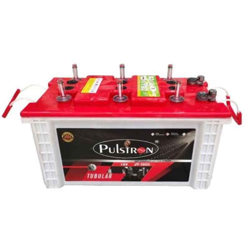 Pulstron 12V 200Ah Dry Jumbo Tubular Inverter Battery, JT-20000PI