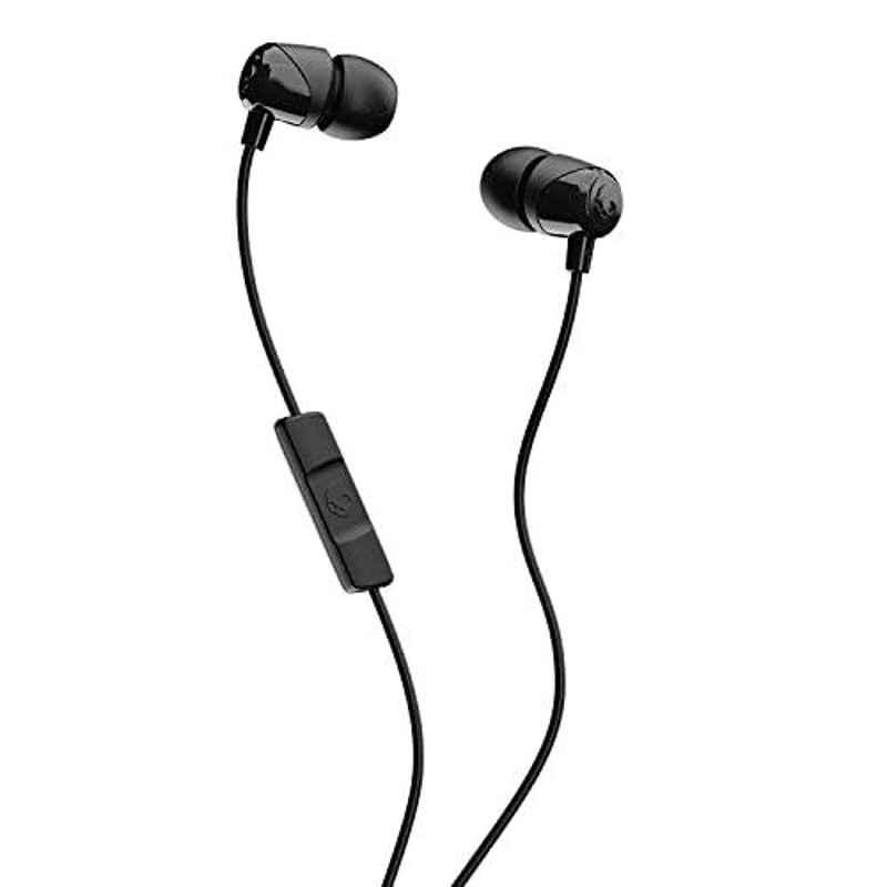 Skullcandy Jib Black Wired in-Earphone with Mic, S2DUYK-343