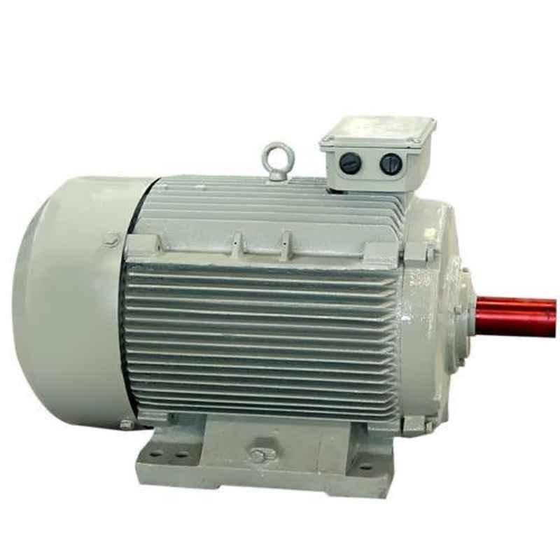 Oswal 2HP 1400rpm Three Phase Squirrel Cage Induction Electric Motor, OM-37-FOM