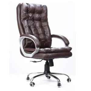 Evok Rome Leatherette Brown Executive Office Chair, FFOFOCALMTBR11652M