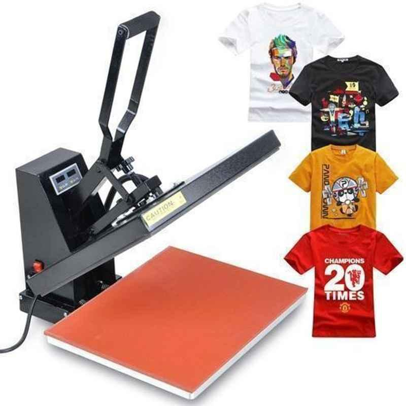 Semi-Automatic T-Shirt Heat Press Printing Machine