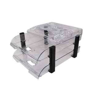 Omega Assorted 2 Tier Executive Office Tray, 1758/U2