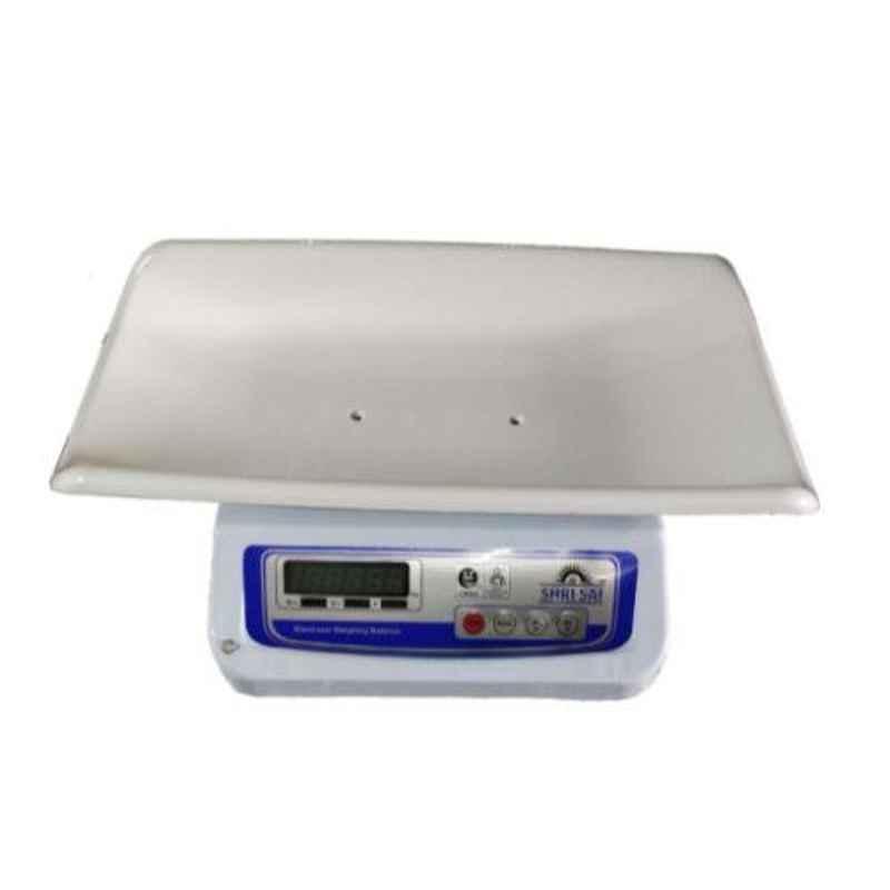Shri Sai 20kg Metal Digital Weighing Scale, BABY-MS-20