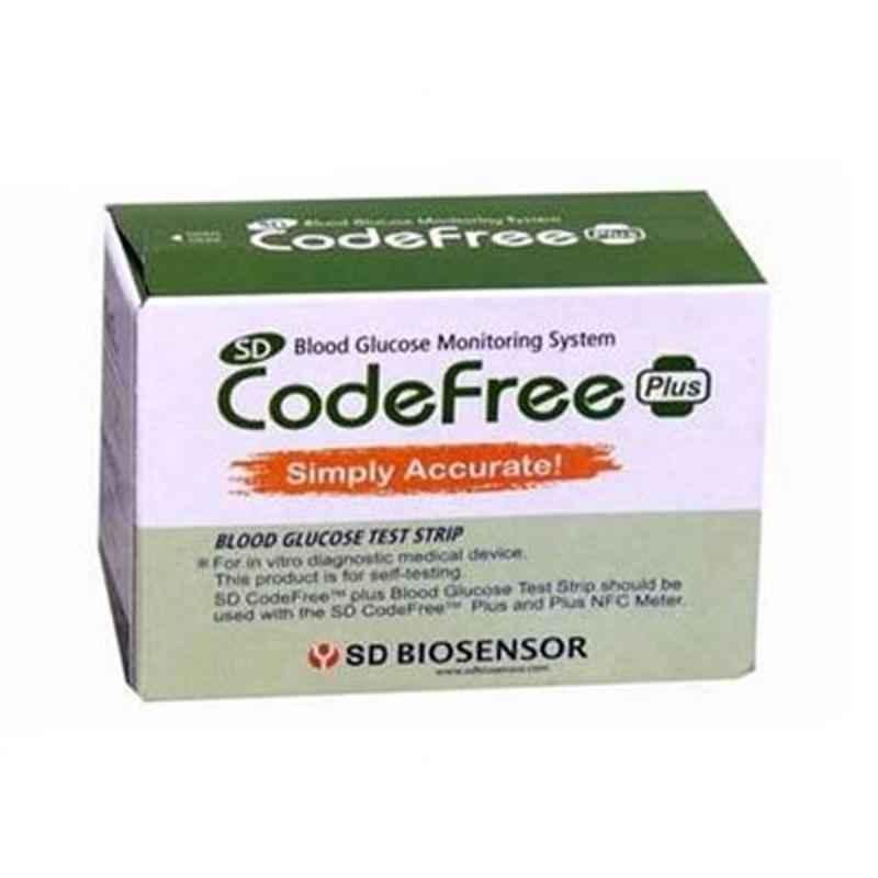 SD Codefree 200 Pcs Blood Glucose Test Strips