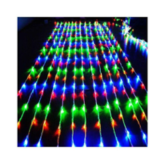 Ever Forever 10X10Ft Multi Colour Waterfall Style LED Curtain String Light with Controller