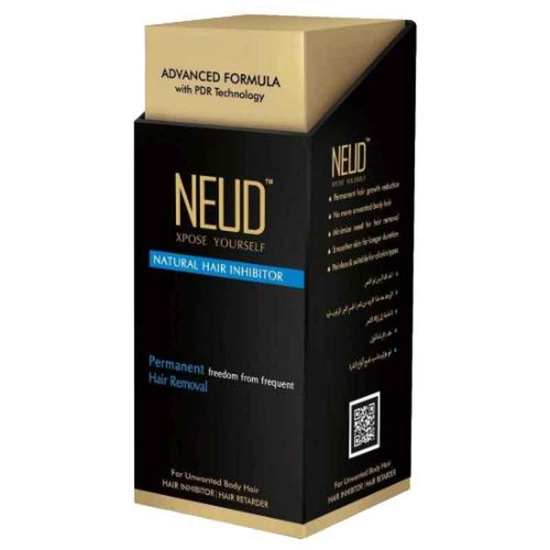 NEUD Natural 80g Unwanted Hair Inhibitor for Unwanted Hair