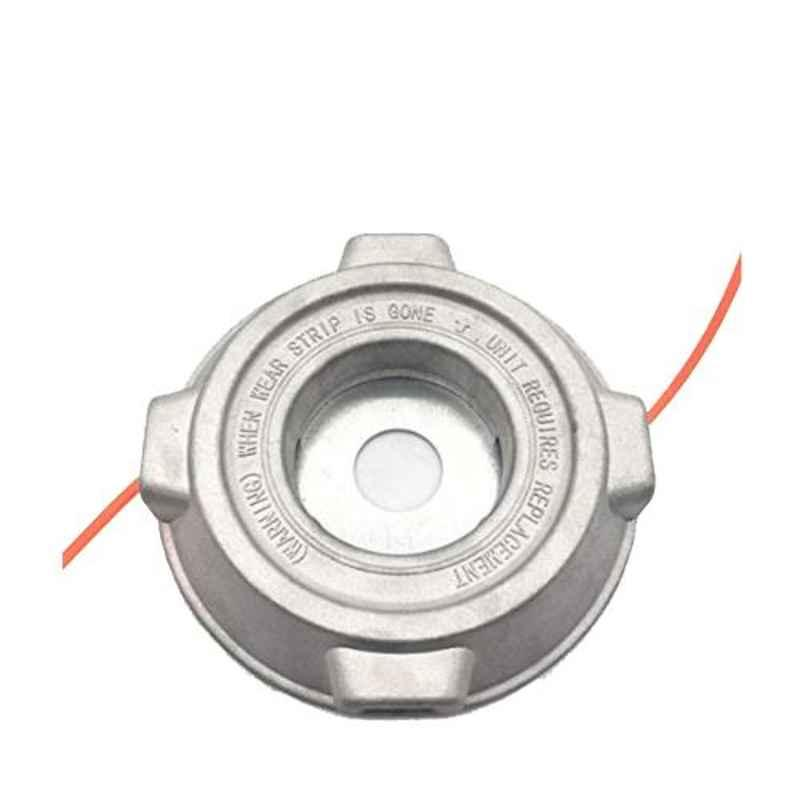 Mactan BC2S-52-037C Aluminum Grass Trimmer Head with 2 Nylon Lines for Brush Cutter