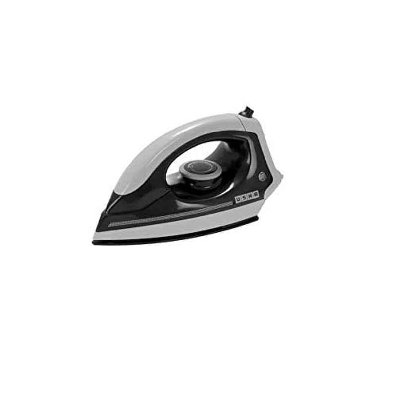 Usha EI 3302 1100W Plastic Grey & Black Dry Iron
