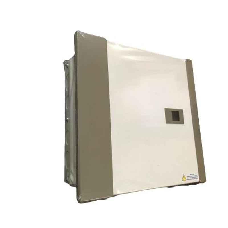 One World Electric 8 Ways Double Door CRCA Steel SPN Distribution Board, OWESPNDD0006