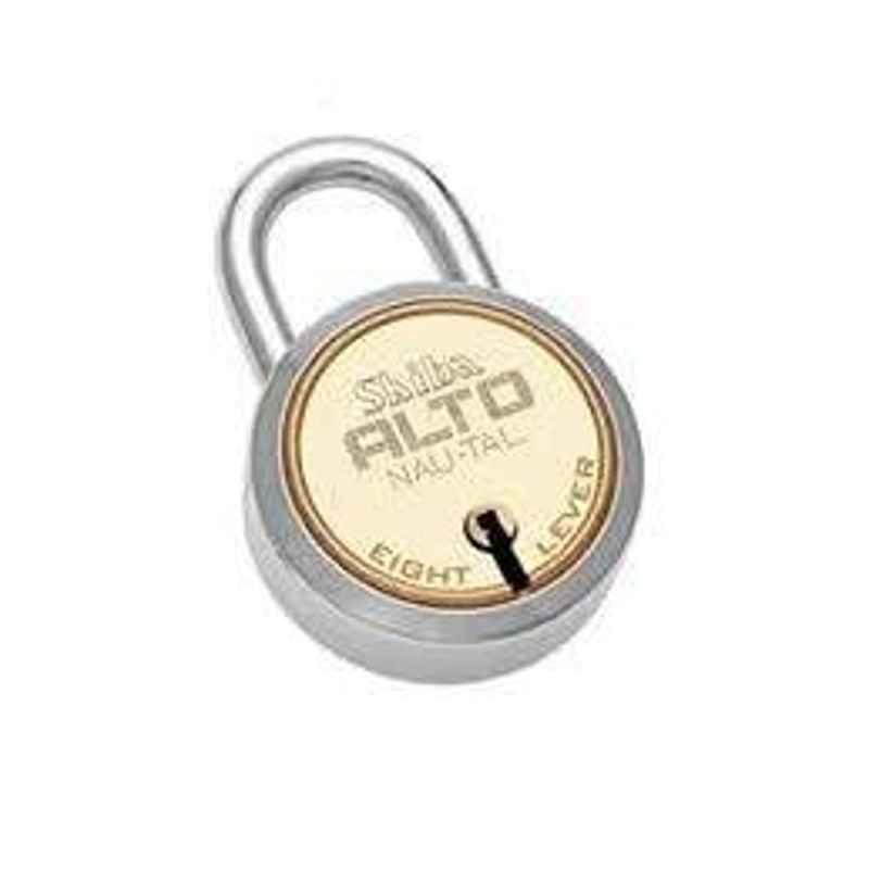 Smart Shophar 65mm Brass & Steel Gold Silver Alto Nau-Tal Padlock, SLK18PD-ALTO-GS65-P1