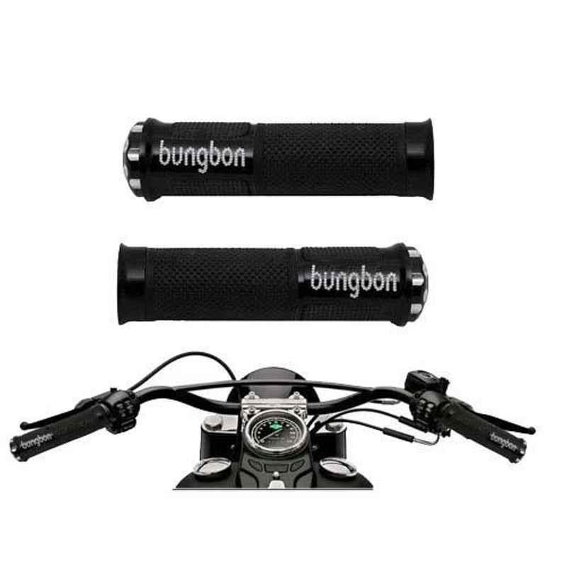 AllExtreme EXUGC2B Black Bungbon Designer Anti Slip Grip Cover