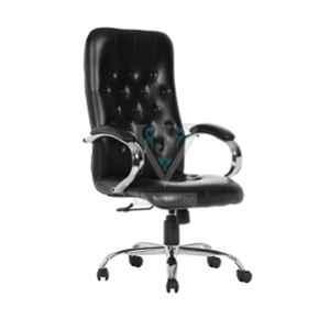 VJ Interior Black Groro High Back Executive Chair, VJ-503