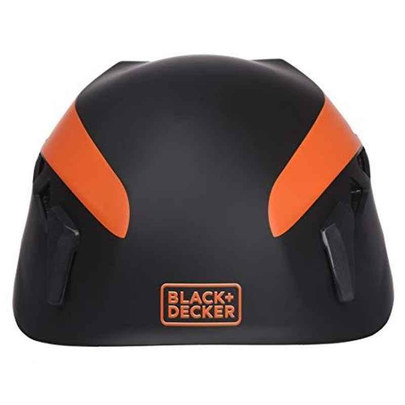Black & Decker Climbing Helmet Orange & Black, BXHP0211IN