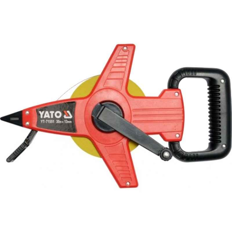 Yato 30m 13mm Steel Survey Tape, YT-71551
