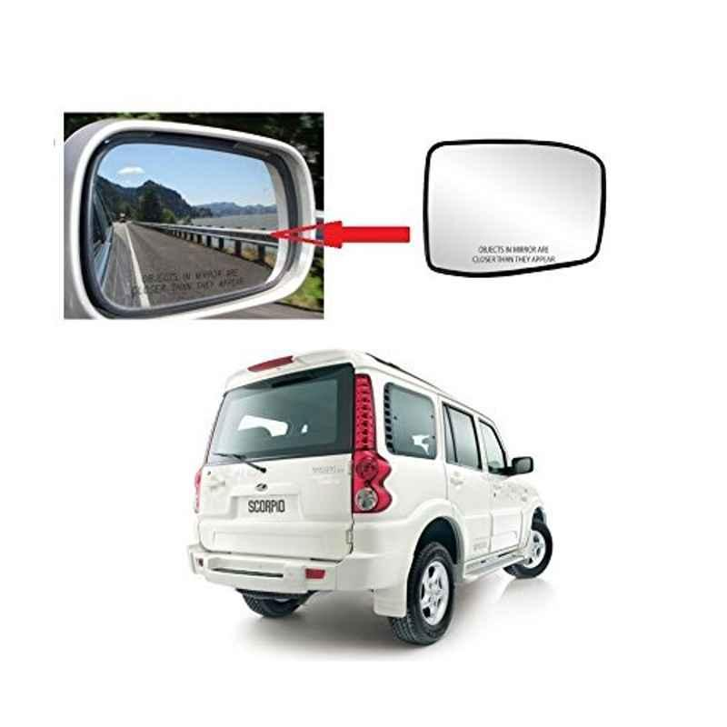Modified Autos Left Side Orvm Only Sub-Mirror Plate for Mahindra Scorpio M Hawk